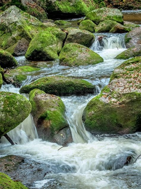 Landscape Experience A Creek With Rocks And Flowing Water Landscape Experience