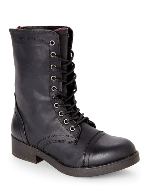 combat boots for madden black mavinn combat boots shoes century 21