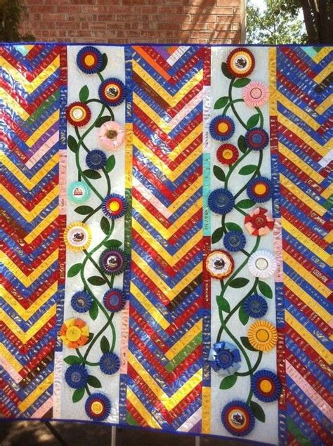 Ribbon Quilts by Wow Ribbon Quilt Ribbon Display Ideas