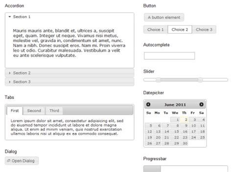 google jquery ui themes javascript can jquery ui safely be used without the css