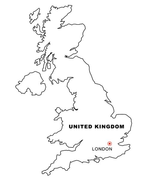 coloring pages for united kingdom united kingdom outline coloring pages