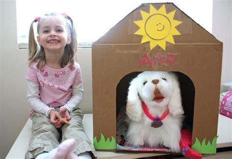 dog house valentine box a girl and her dog house
