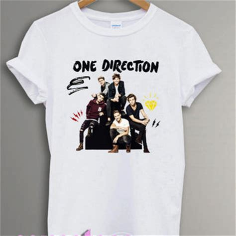 1d Shirt Black one direction shirt 1d changes from sensetees on etsy