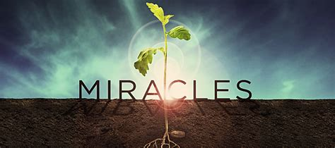Miracle Of miracles church sermon series ideas