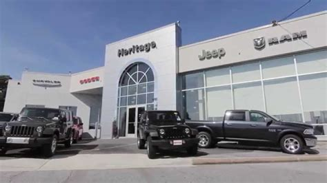 Heritage Chrysler Dodge Jeep by Welcome To Heritage Chrysler Dodge Jeep Ram Owings Mills