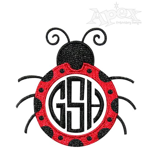 embroidery design ladybug ladybug embroidery design frames