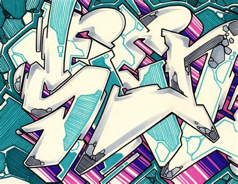 graffiti artist  wildstyle  drawing dirtypilot