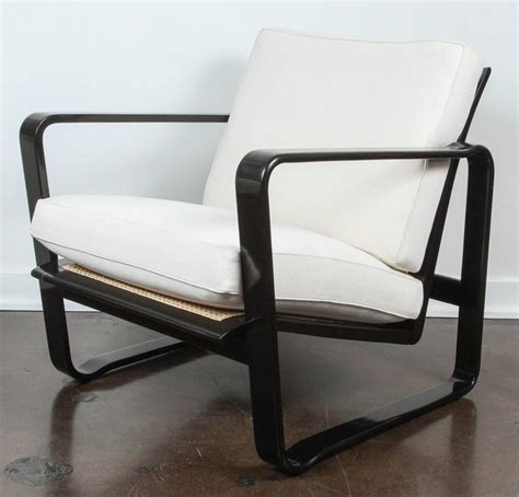 Modern Morris Chair by Pair Of Adjustable Modern Morris Chairs By Edward Wormley