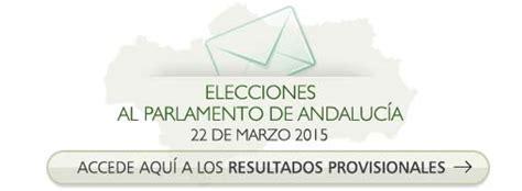 candidaturas presentadas para las elecciones al parlamento elecciones al parlamento de andaluc 237 a 2015