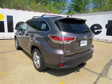 Toyota Hitch 2014 Toyota Highlander Trailer Hitch Curt