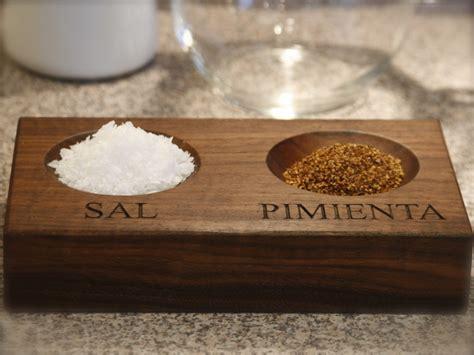 sal y pimienta sal y pimienta regalo madera