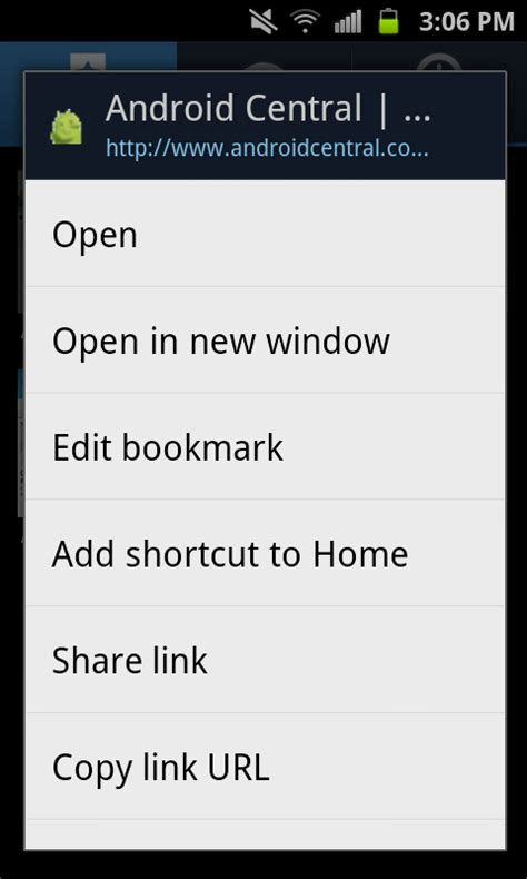 how to add to android android 101 how to add a bookmark to your home screen android central
