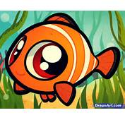 How To Draw Chibi Nemo Finding Step By Disney