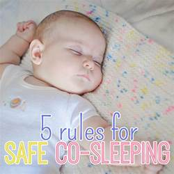 5 for safe co sleeping daily