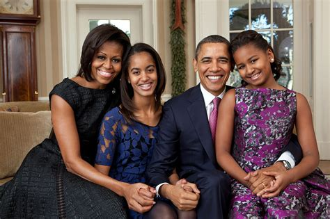 File:Barack Obama family portrait 2011   Wikimedia Commons