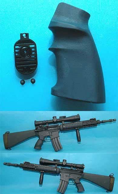 Gp Heat Sink Grip End For M16 Series Airsoft Aeg g p spr grip w heat sink end set for m4 m16 series airsoft aeg color black evike