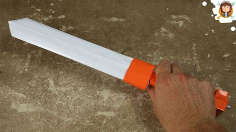 How To Make A Sword Out Of Paper - how to make a paper sword gladius