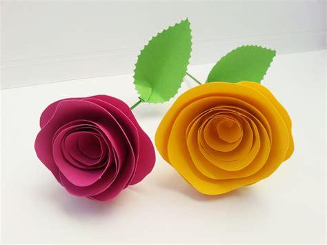 la bambina dei fiori di carta tutorial di carta san valentino festa della mamma