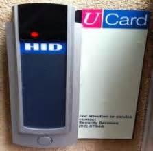 hid card reader blue light ucard readers security services of bristol