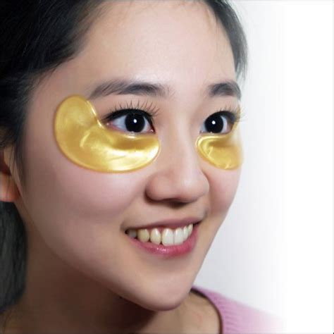 Gold Collagen Eye Mask golden collagen eye mask taiwan mask