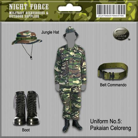 Baju Celoreng Jpam custom made army malaysia outdoor accessories supplier