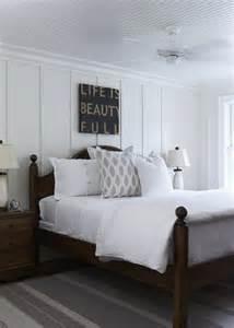 beadboard bedroom wall bedroom ceiling fan cottage bedroom hiya papaya
