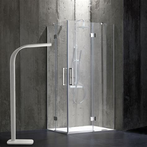 doccia 80x100 doccia bagno 0x100 senza telaio in cristallo 6mm