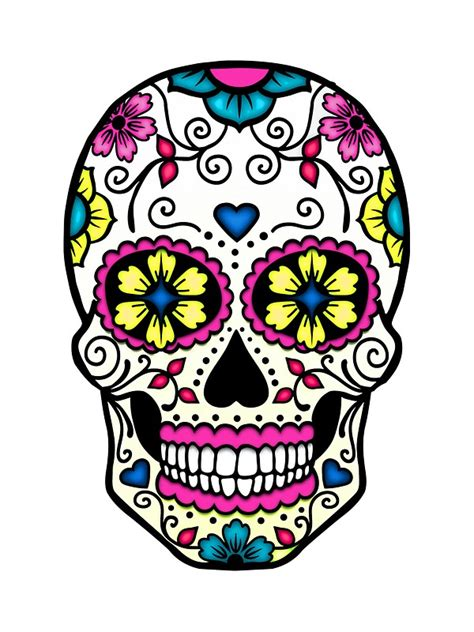 quot purple sugar skull quot stickers by teatimeisover redbubble