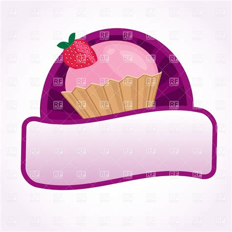 Label Segi 4 Motif Strawberry Pink dessert border clipart jaxstorm realverse us