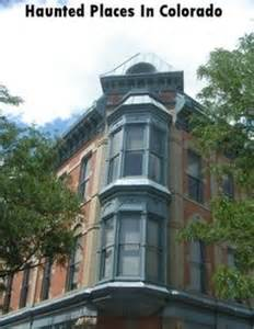 haunted places in colorado on ghosts shops