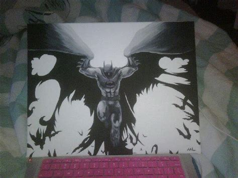 batman painting free batman painting by captaincrayon on deviantart