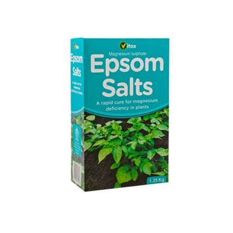 vitax epsom salts 1 25kg gro well direct