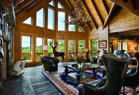 log cabin great room pictures 7 more than great log home great rooms