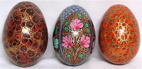decorative eggs decorative eggs from kashmir set of 3