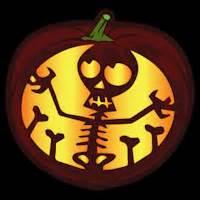 skeleton pumpkin templates skeleton co stoneykins pumpkin carving patterns and