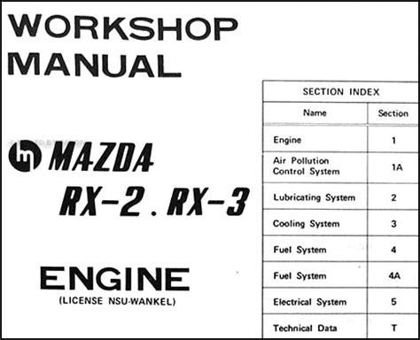 online car repair manuals free 1990 mazda rx 7 spare parts catalogs service manual manual repair engine for a 2005 mazda rx 8 repair manual 1994 mazda rx 7 free