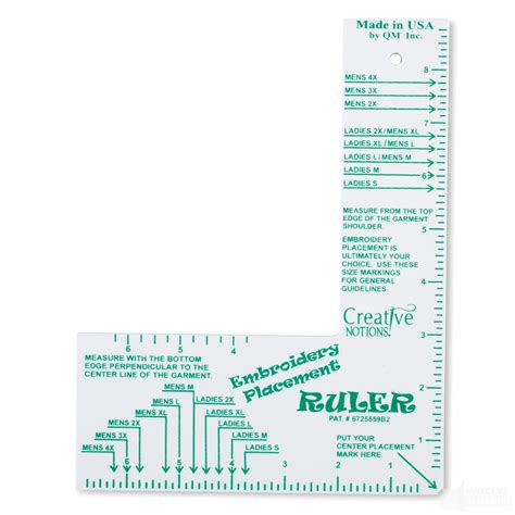 embroidery design placement embroidery ruler makaroka com