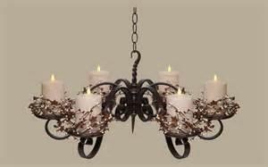 Modern Interior Design : Non Electric Pillar Wrought Iron Candle