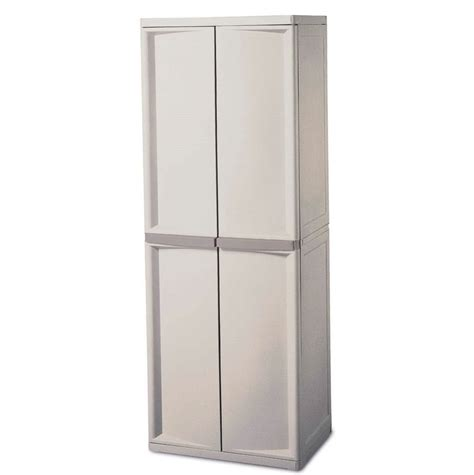 plastic storage cabinets lowes plastic storage cabinet with doors home design ideas