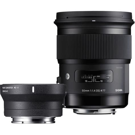Sigma 50mm 1 4 Canon sigma 50mm f 1 4 dg hsm lens for canon ef and mc 11 zi954