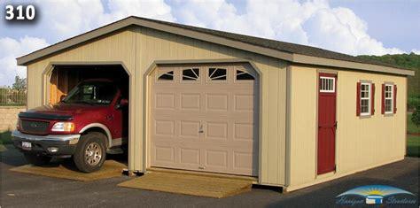 20 X 25 Garage Kits by 2 Car Garage Plans Modular Garages Horizon Structures