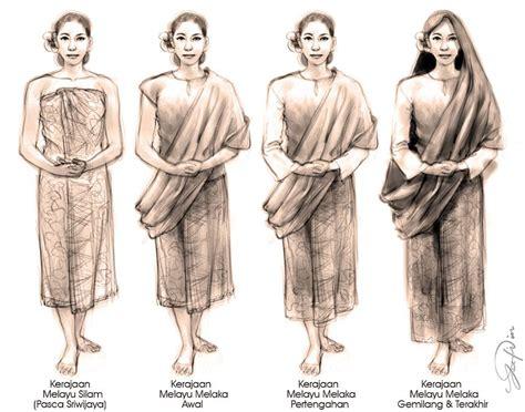 Sejarah Baju Kurung Pesak Buluh se mana pun baju raya kita inilah asal usulnya
