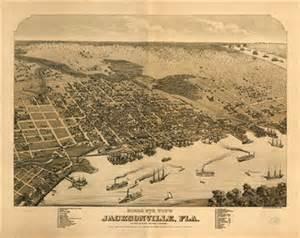 historic florida maps jacksonville jacksonville ancestry family history