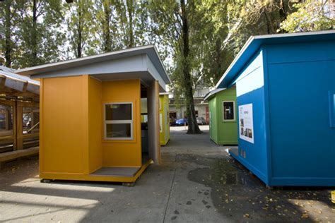 emergency housing tiny house homeless shelters to weather the economic hurricane tiny house design