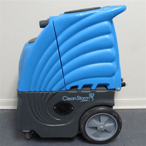 upholstery steam cleaning machines clean storm 6gal 170psi heated 6 6 vac motor auto detail