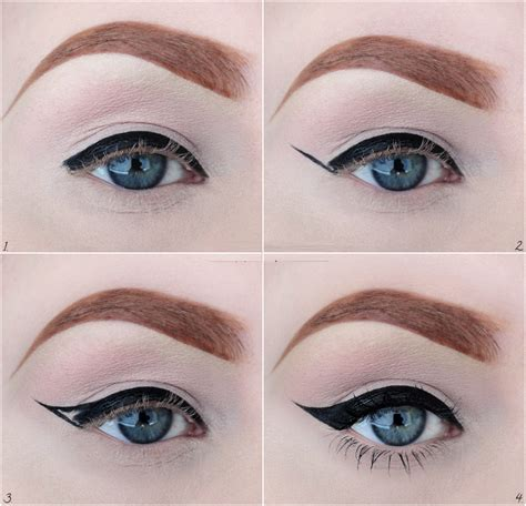 tutorial applying liquid eyeliner how to apply eyeliner perfectly step by how to