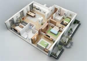 home design 3d ipad balcony 25 charming 3d apartment plans