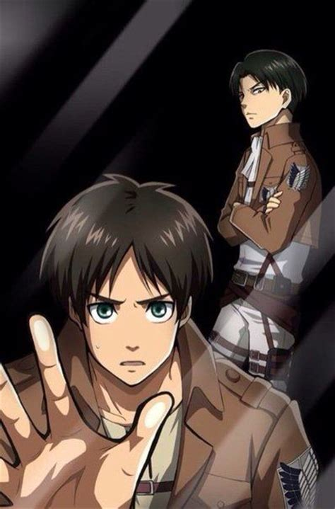 attack on titan fan unblocked attack on titan eren and levi lockscreen attack on