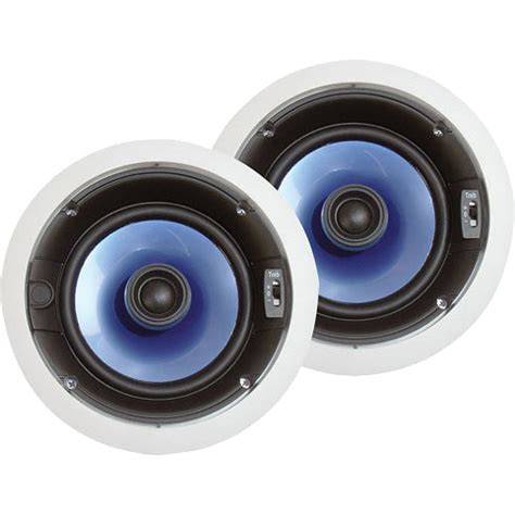 pyle ceiling speakers pyle pro pic6e 6 5 quot 250w in ceiling speaker system pic6e