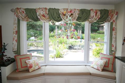Kitchen Garden Window Blinds Breakfast By The Garden Window Treatment Before And After